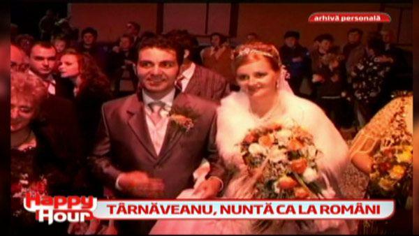 La nunta sa, Robert Tarnaveanu a respectat toate obiceiurile din zona Sibiului. Vezi imagini inedite de la nunta celor doi