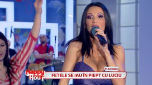 Catalin Maruta a dezbracat-o pe Nicoleta Luciu in direct la Happy Hour! VIDEO