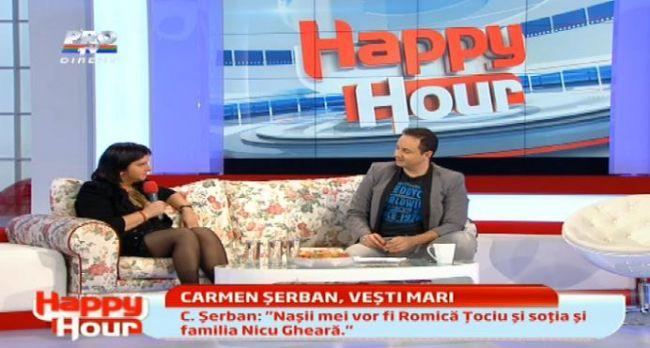 Carmen Serban se marita!