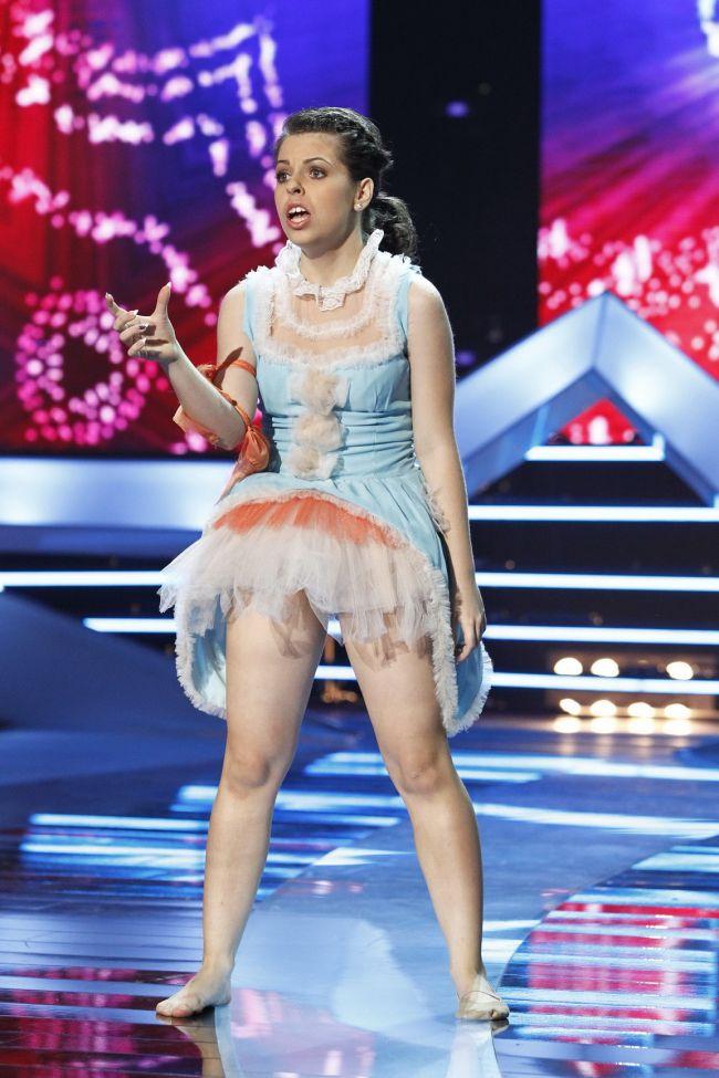 Romanii au talent : Dansul care A DEZAMAGIT juriul. Protagonista NU a mai fost  sofisticata  si i-a lipsit energia
