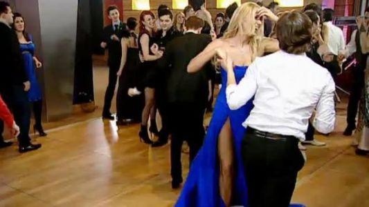 Mihai Petre danseaza cu Roxana Ionescu, la nunta lui Edi Stancu