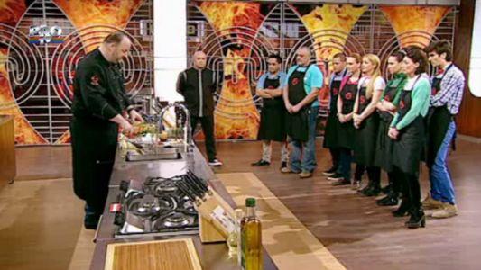 Demonstratie de cooking de la un bucatar cu diploma de Master Chef - Henrik Sebok