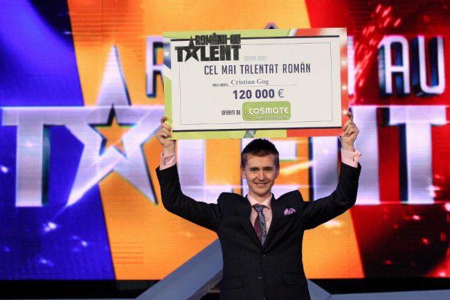 SURPRIZA sau nu? Cristian Gog, marele castigator de la  Romanii au talent ! TU l-ai (fi) votat?