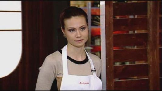 Andreea aproape ca a amutit in fata criticilor. Preparatul ei a fost pus la zid de invitati