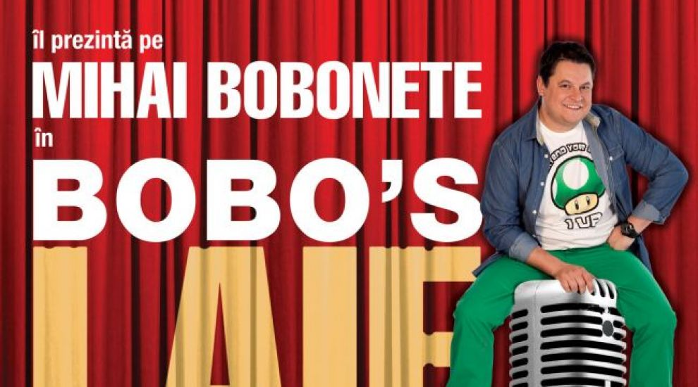 Super show de stand-up comedy: Bobo s Laif! Vezi de ce o sala intreaga a ras la faza asta VIDEO