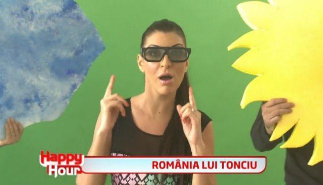 Andreea Tonciu da probe pentru prezentarea unei rubrici meteo 6D! Vezi cata geografie stie: Razi cu lacrimi! VIDEO