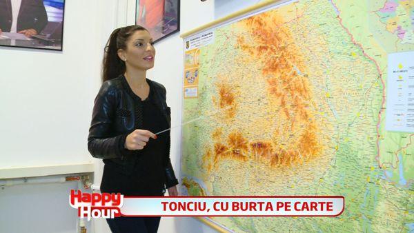 """Andreea Tonciu,<span style=""""color:#f00;""""> la lectia de geografie! </span>Dupa ea, Chisinau e o tara, iar capitala Angliei e Marea Britanie! VIDEO FABULOS"""