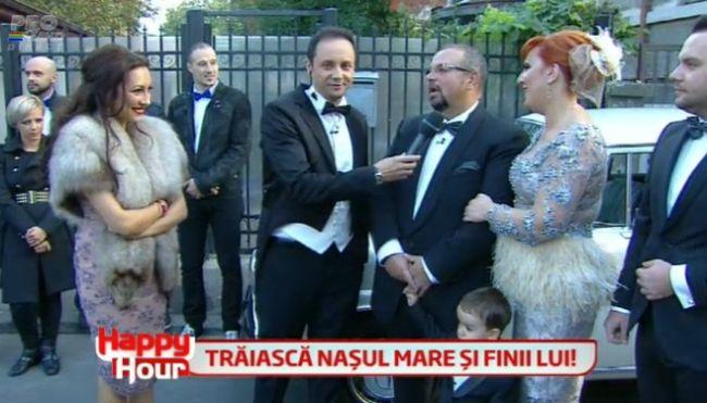 Andra si Maruta, nasii lui Piedone la nunta de argint