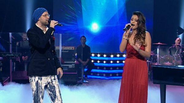 """Antonia, o aparitie superba in finala """"Vocea Romaniei"""". A atras toate privirile la duetul cu Tibi Scobiola. VIDEO"""