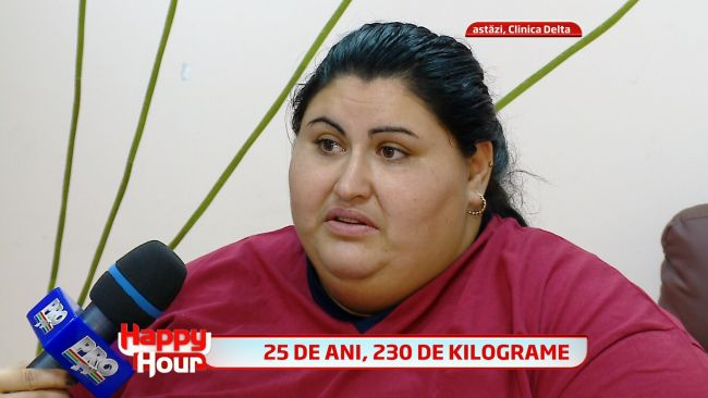 Mariana, cea mai grasa femeie din Romania a inceput deja sa slabea