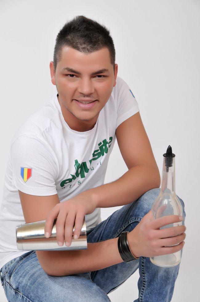 Valentin Luca, fost finalist la  Romanii au talent , actual campion mondial la flair bartending:  Traiesc cea mai frumoasa perioada a vietii mele