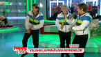 Adi de la Valcea, Liviu Guta si Dinu Maxer, noii membri ai trupei Valahia. Au facut super show la  Happy Hour : VIDEO