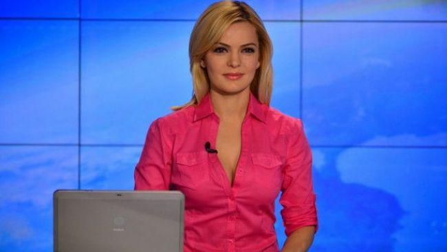 Lavinia Petrea, o zi frumoasa incepe de dimineata. Prezentatoarea Stirilor ProTV de la ora 7:00 este pasionata de machiaj
