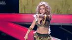 Shakira de Romania , aproape de un accident vestimentar pe scena. Vezi cum a hipnotizat audienta cu miscarile sale lascive