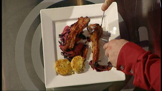Costitele de porc gatite de vegetarianul Victor Nemes, un deliciu!