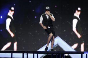 """E tot mai bun pe zi ce trece: Mihai Petre il considera """"dansatorul complet"""". A facut senzatie pe scena de la """"Romanii au talent"""""""