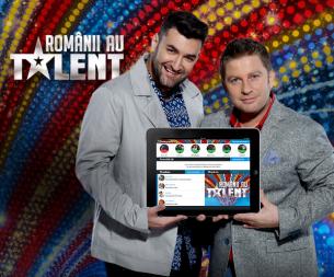 Romanii au talent la downloadat: aplicatia de second screen cu 100.000 de download-uri pe smartphone-uri si tablete