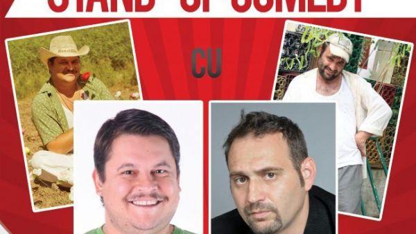 "O luna de ras fara limite: Mihai Bobonete si Adrian Vancica din ""Las Fierbinti"" pornesc in turneu de stand-up comedy"