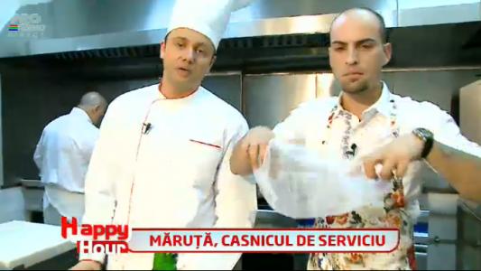 """Maruta s-a apucat de gatit. A pregatit o tarta pentru casnica de la """"MasterChef"""""""