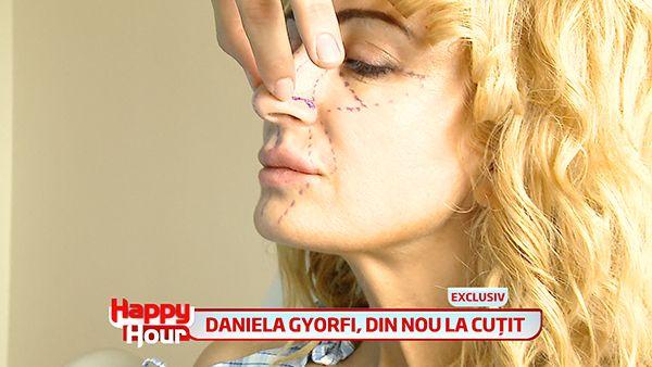 Daniela Gyorfi, intr-o noua prezentare. Cantareata si-a revenit complet dupa rinoplastie si se mandreste cu noul look