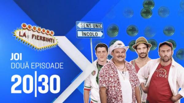 "Portie dubla de comedie. Diseara, de la 20:30, la ProTV ai doua episoade noi din ""Las Fierbinti"""