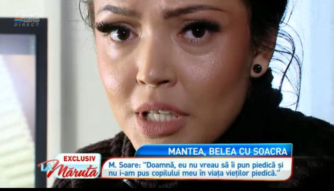 """Andreea Mantea, scandal de proportii cu mama lui Stefan Stan: """"Ma blestema pe la toate colturile si nu l-a iubit niciodata pe Stefan"""""""