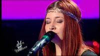 Iolanda Moldoveanu – Skyfall canta la vocea romaniei 26 octombrie 2013