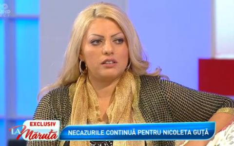 Nicoleta Guta, suspecta de cancer. Mesajul dur al manelistului Nicolae Guta catre fiica lui:  S-a sfarsit cu tine