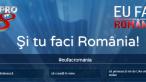 "De 1 Decembrie, ProTV lanseaza aplicatia ""Eu fac Romania"""