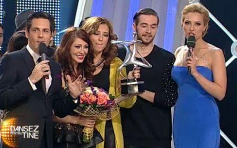 Ilinca Vandici si Razvan Marton sunt castigatorii celui de-al 14-lea sezon Dansez pentru tine !