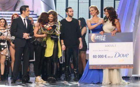 Ilinca Vandici si Razvan Marton sunt castigatorii celui de-al XIV-lea sezon  Dansez pentru tine