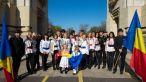 Vedetele ProTV au inregistrat imnul national al Romaniei pe Arcul de Triumf