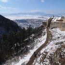 Cetatea Rasnov din judetul Brasov se numara printre cele mai frumoase 10 castele pe timp de iarna din lume.