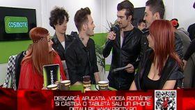"""Primul show LIVE. Nu uita sa descarci si tu aplicatia """"Vocea Romaniei"""""""