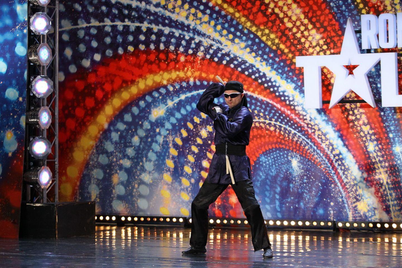 Jackie Chan de Romania face show la  Romanii au talent , diseara, de la 20:30