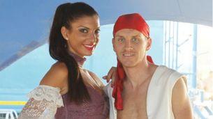 Andreea Tonciu si Nicolae Mitea, fara inhibitii. Niciun cuplu obisnuit nu s-ar lasa fotografiat in aceasta ipostaza