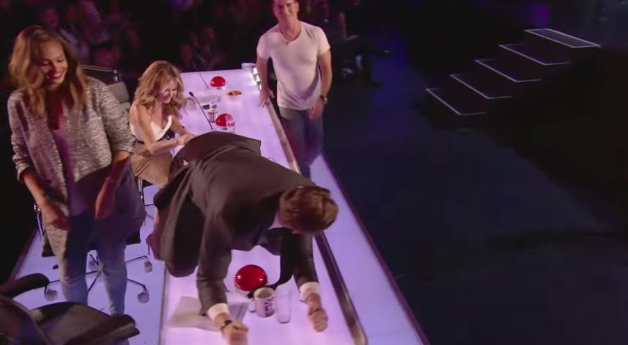 Tarky, in semifinalele  Britain s Got Talent . A coborat din aer imbracat in roz si toata lumea a ras cu lacrimi cand a vazut ce a urmat - VIDEO