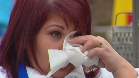Au ramas muti de uimire cand au vazut ca a inceput sa lacrimeze. Motivul pentru care Adriana a plans in hohote cand a vazut militarii