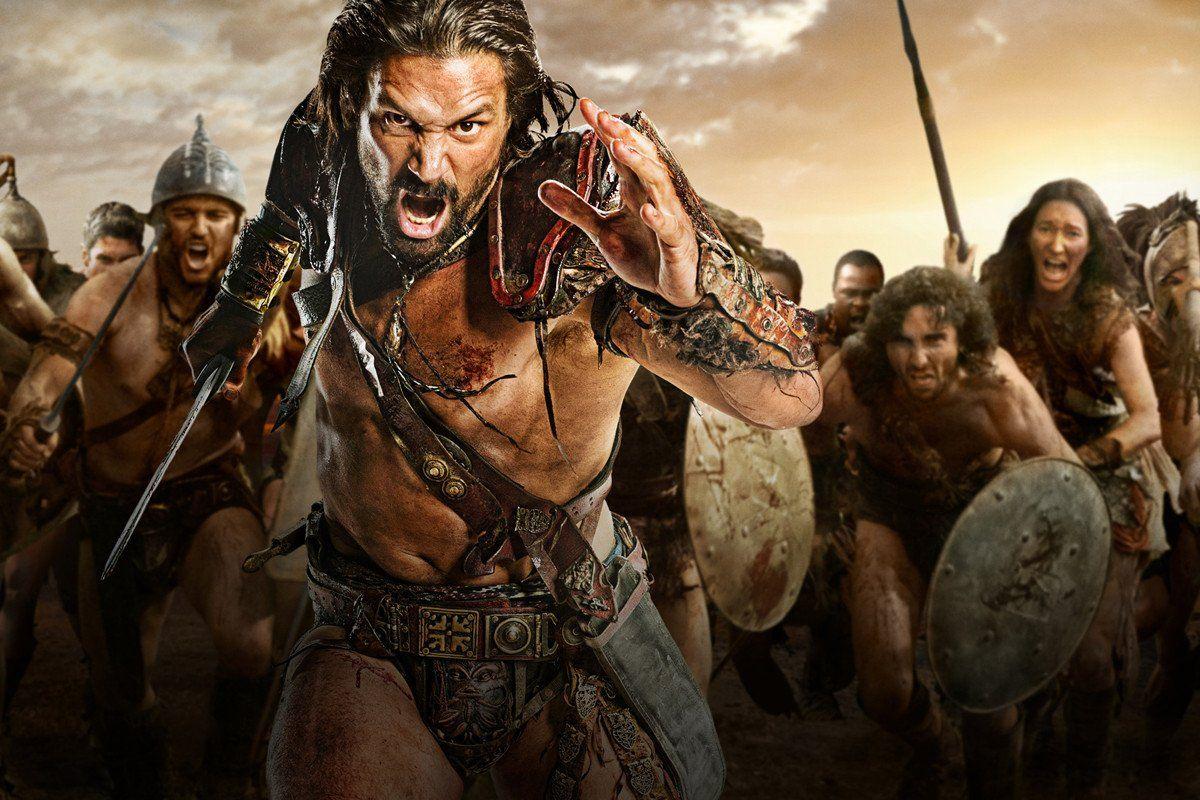 Filme Spartacus with protv - cea mai noua serie spartacus: razboiul celor blestemati