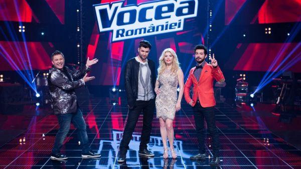 """""""Vocea Romaniei"""" are o echipa internationala de productie"""