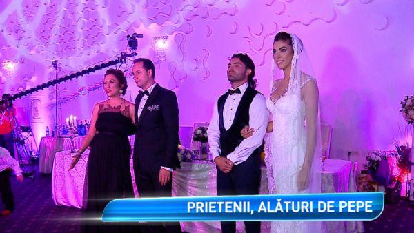 Nunta lui Pepe si a Ralucai, record la distractie