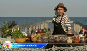 Chef FOA de la MasterChef face salata cu zargan