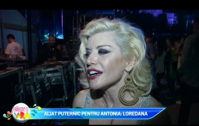 Aliat puternic pentru Antonia: Loredana