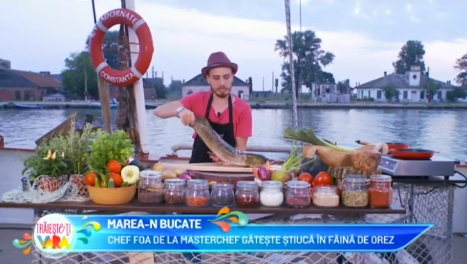 Chef FOA de la MasterChef gateste stiuca in faina de orez