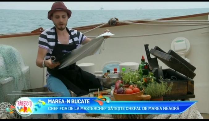 Chef FOA iti arata care este cea mai buna reteta cu chefal de la Marea Neagra