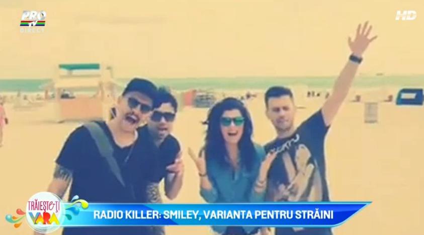 Radio Killer: Smiley, varianta pentru straini