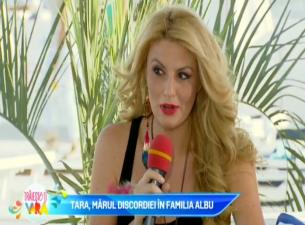 """Tara: """"Nu sunt o vedeta de carton. Nu m-a ajutat scandalul cu Mihai Albu"""""""