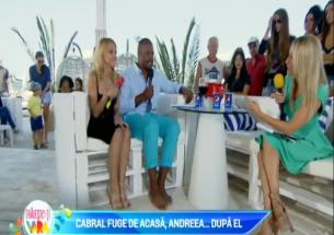 Cabral fuge de acasa, Andreea dupa el