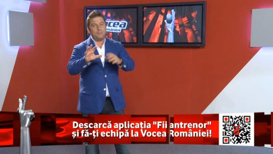 """ProTV duce mai departe fenomenul second screen. Descarca aici aplicatia """"Fii Antrenor"""" la Vocea Romaniei"""