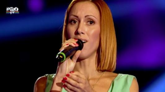 """De la Eurovision, la Vocea Romaniei. Aliona Munteanu a facut o demonstratie impecabila de voce pe melodia """"Halo"""""""